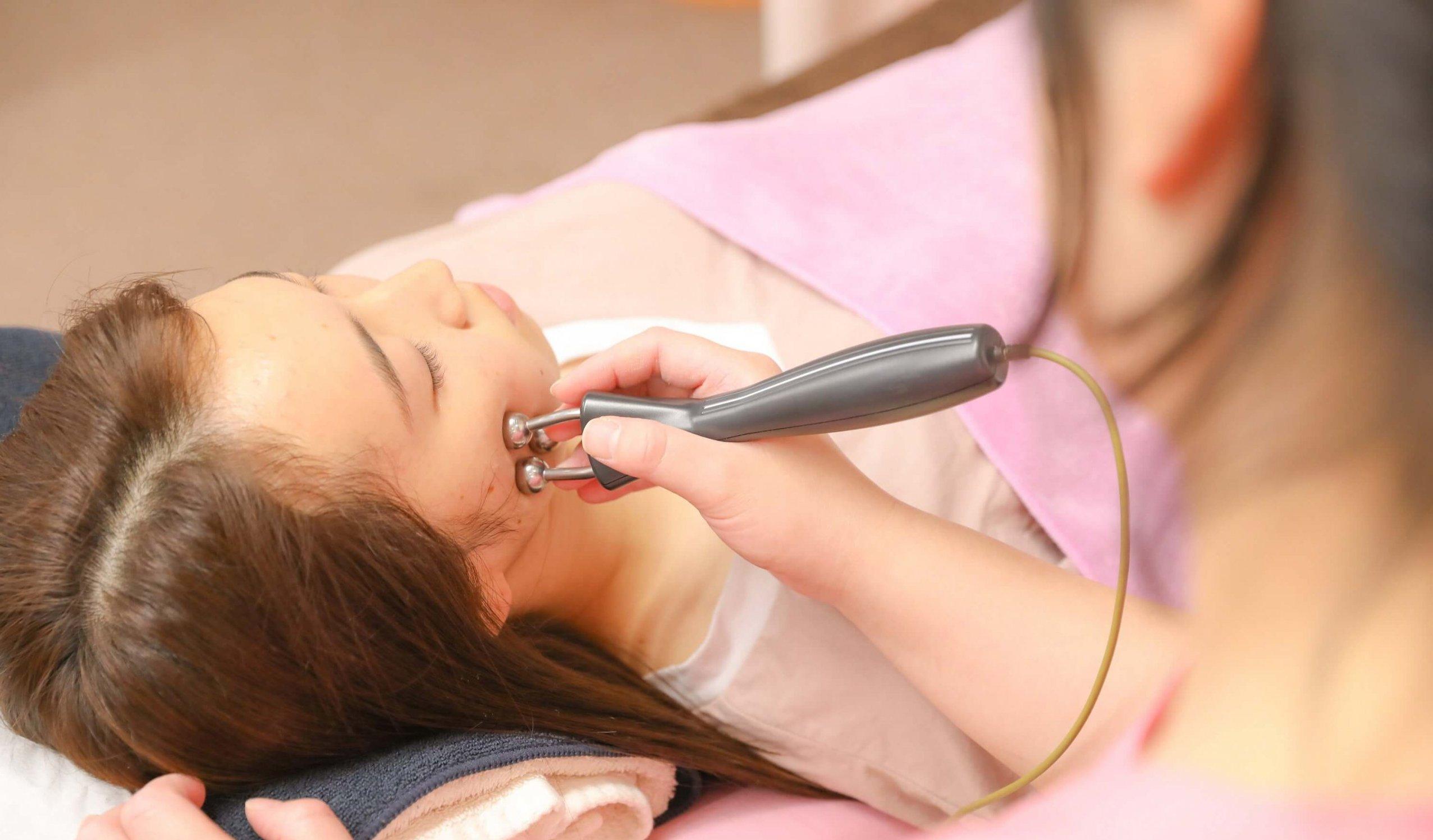 接骨・鍼灸院にしかできない<br>新しい美容方法!